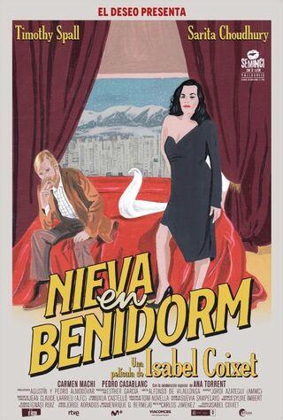 It Snows In Benidorm (2020) Main Poster
