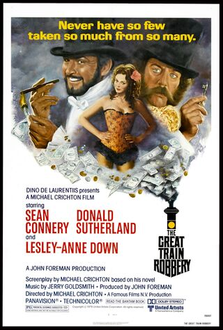 The Great Train Robbery (1979) Main Poster