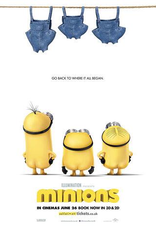 Minions (2015) Main Poster