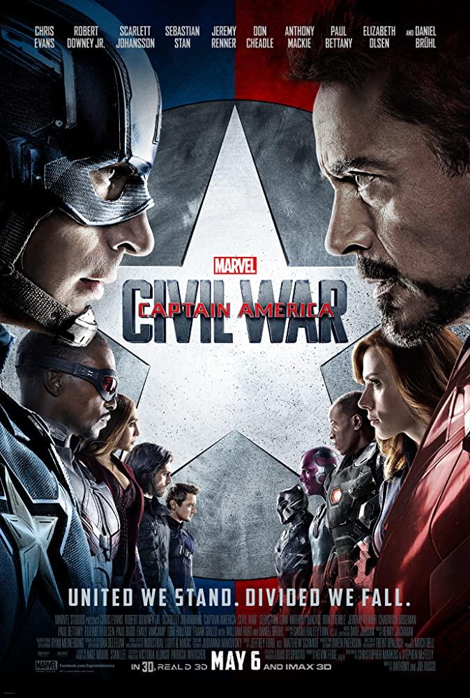 Captain America: Civil War (2016) Main Poster