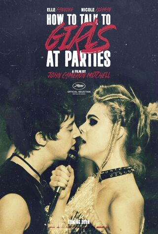 How To Talk To Girls At Parties (2018) Main Poster