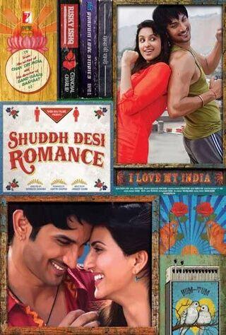 Shuddh Desi Romance (2013) Main Poster