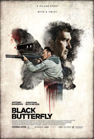 Black Butterfly (2017) Main Poster