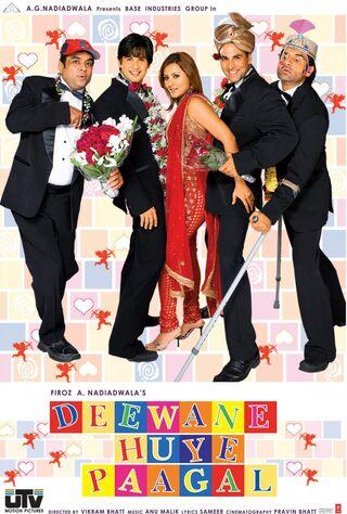 Deewane Huye Paagal (2005) Main Poster