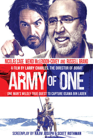 Army Of One (2016) Main Poster