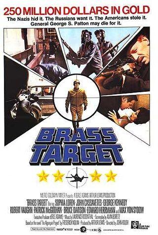 Brass Target (1979) Main Poster