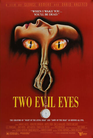 Two Evil Eyes (1991) Main Poster