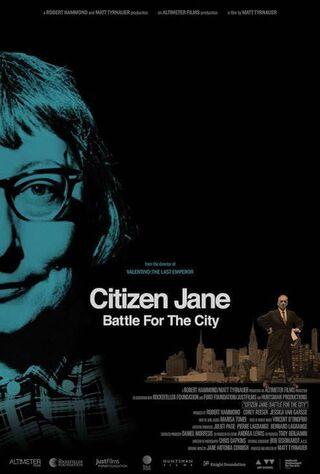 Citizen Jane: Battle For The City (2017) Main Poster