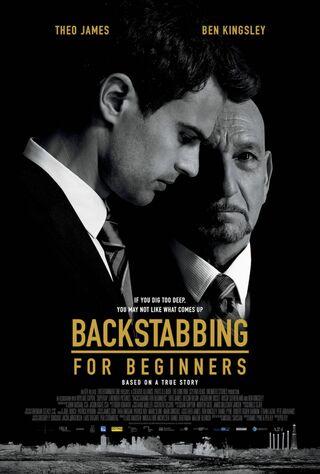 Backstabbing For Beginners (2018) Main Poster