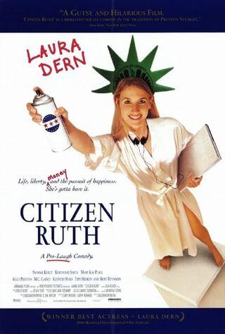 Citizen Ruth (1996) Main Poster
