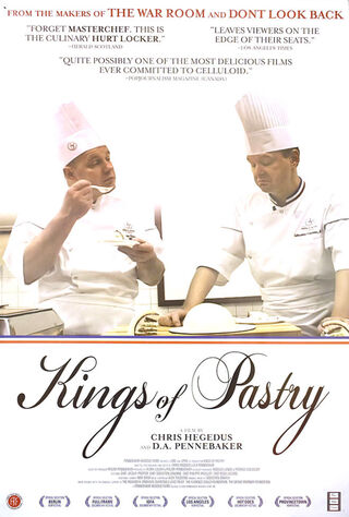 Kings Of Pastry (2010) Main Poster