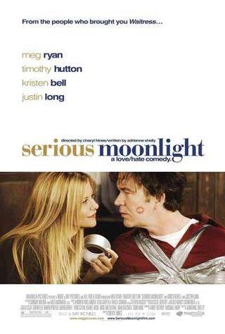 Serious Moonlight (2009) Main Poster