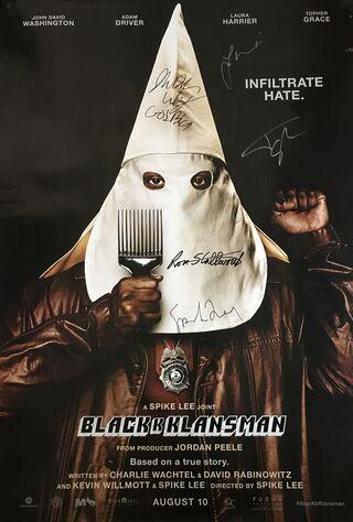 BlacKkKlansman (2018) Main Poster