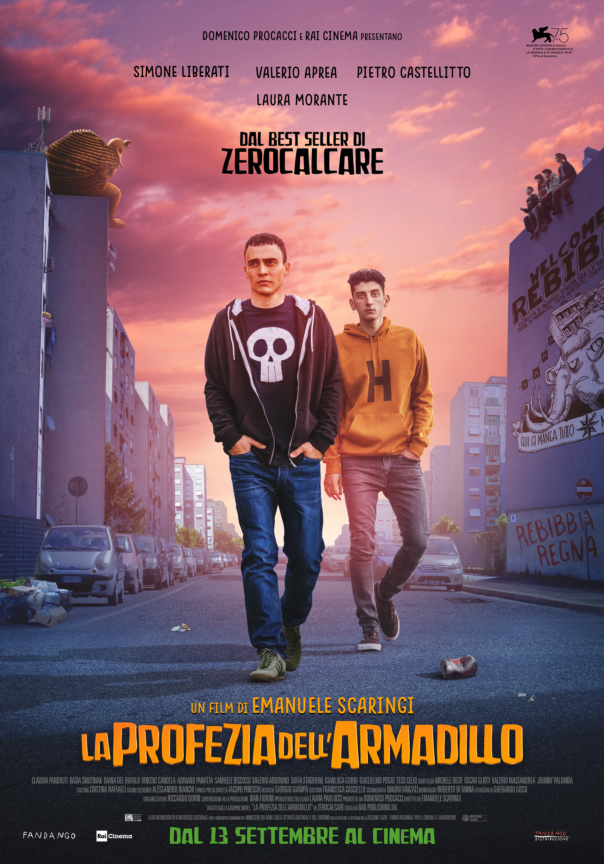 La Profezia Dell'armadillo (2018) Main Poster