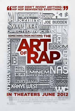 Something From Nothing: The Art Of Rap (2012) Main Poster