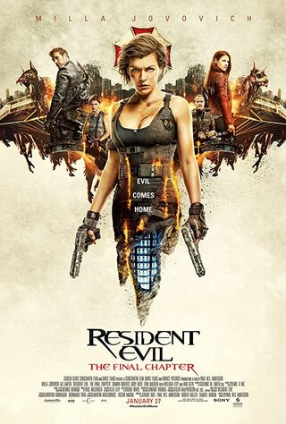 Resident Evil: The Final Chapter (2017) Main Poster