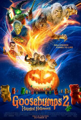 Goosebumps 2: Haunted Halloween (2018) Main Poster