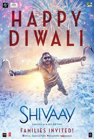 Shivaay (2016) Main Poster