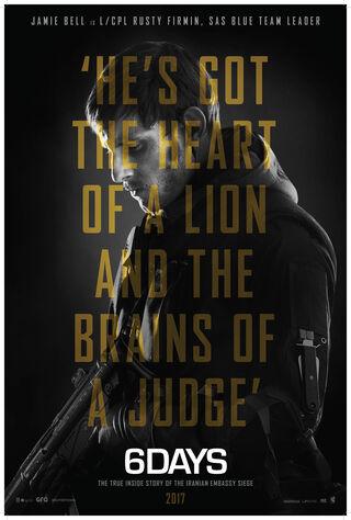6 Days (2017) Main Poster