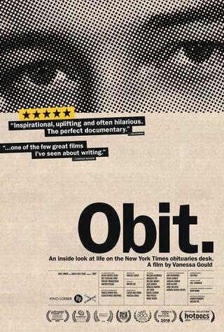 Obit. (2017) Main Poster