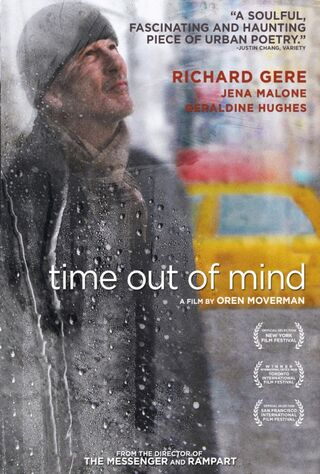 Time Out Of Mind (2015) Main Poster