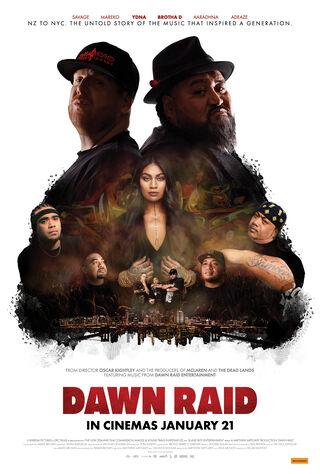 Dawn Raid (2021) Main Poster
