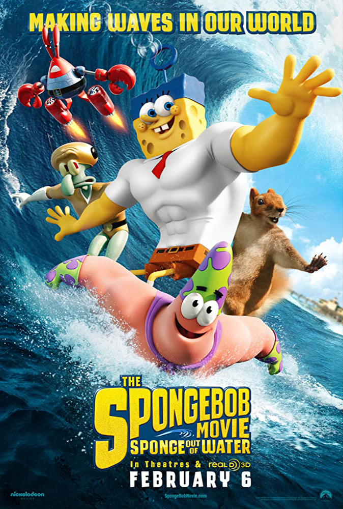 The SpongeBob Movie: Sponge Out of Water (2015) Main Poster