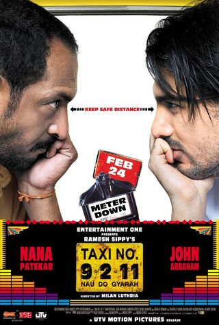 Taxi No. 9 2 11: Nau Do Gyarah (2006) Main Poster