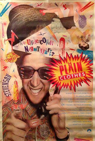 Plain Clothes (1989) Main Poster