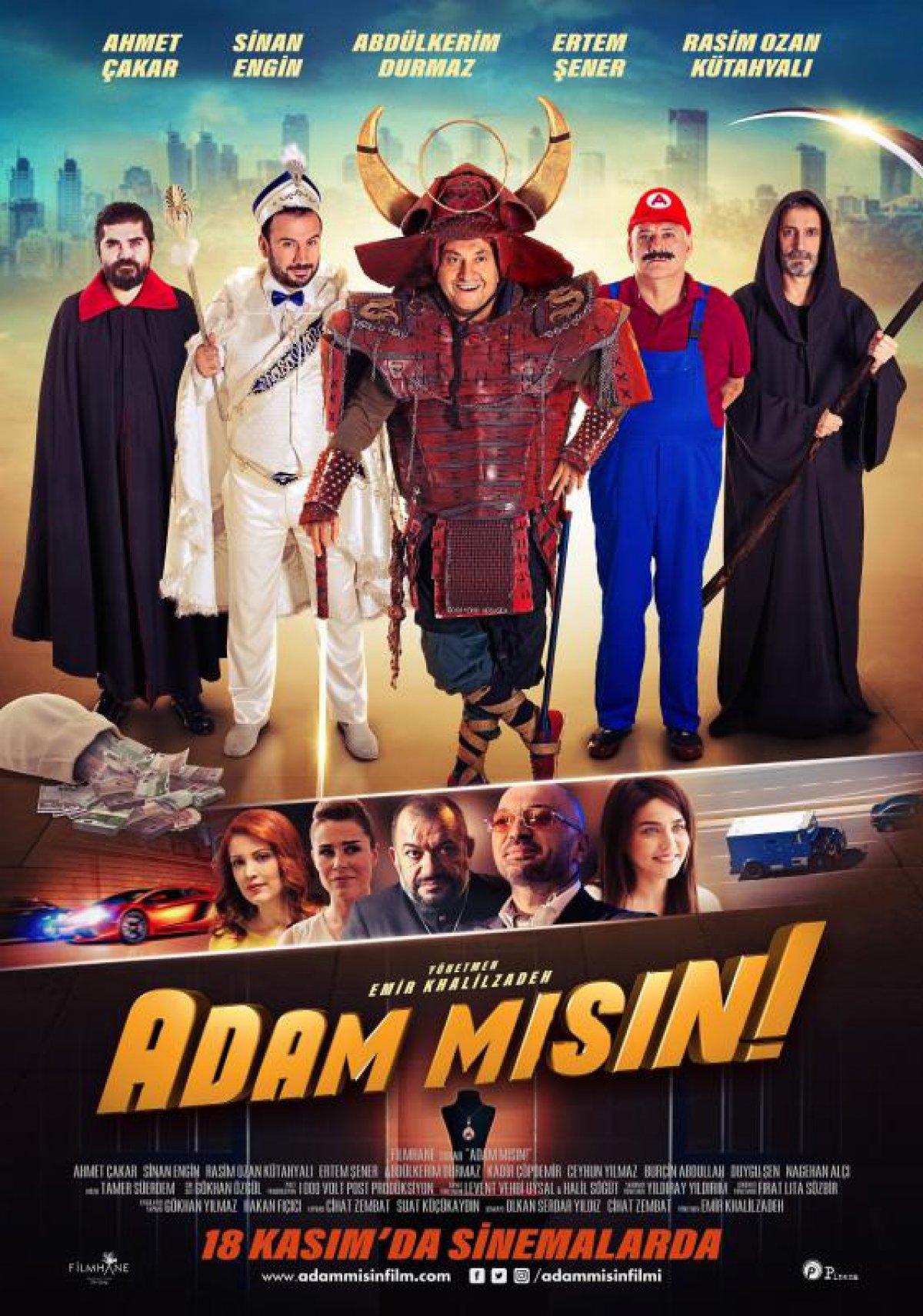 Adam Misin! (2016) Main Poster