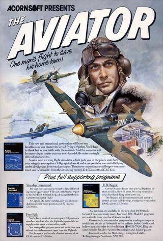 The Aviator (1985) Main Poster
