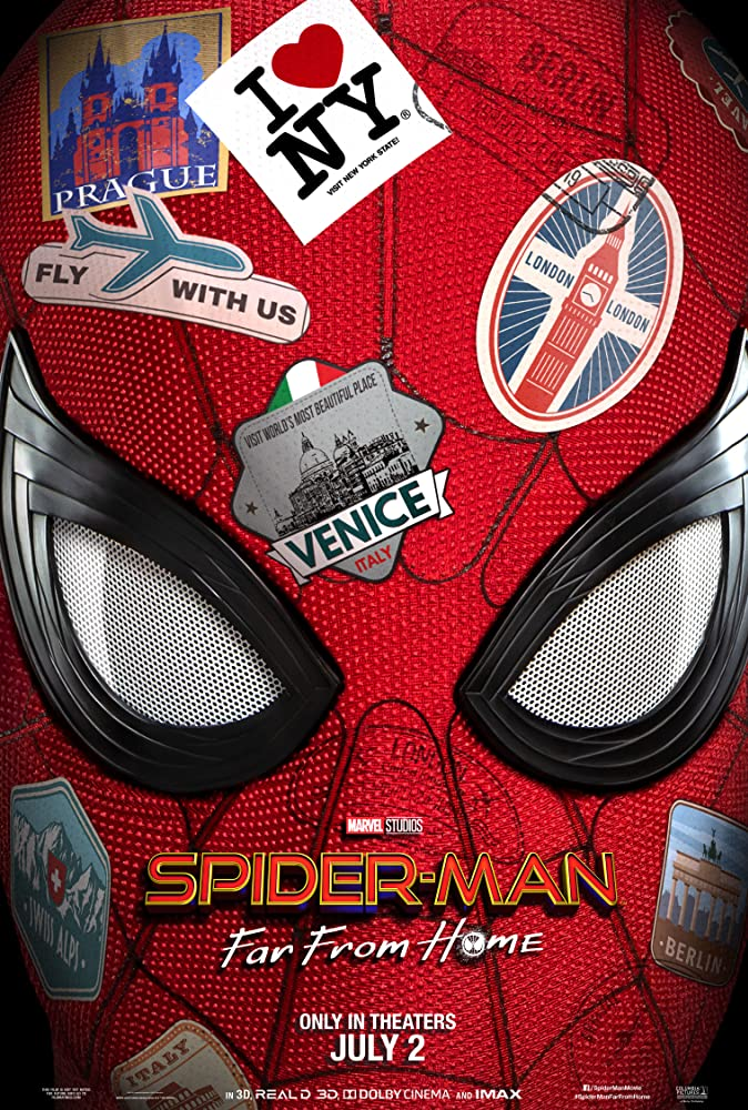 Spider-Man: Far From Home (2019) Main Poster