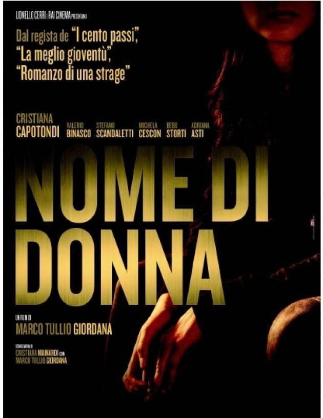 Nome Di Donna (2018) Main Poster