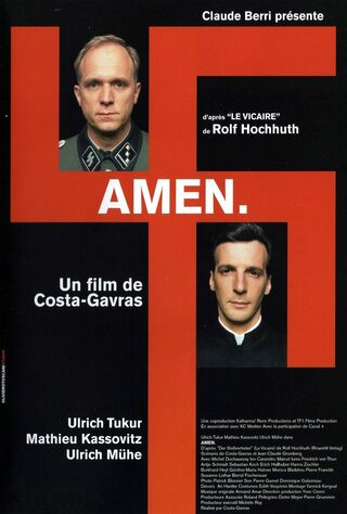 Amen. (2002) Main Poster
