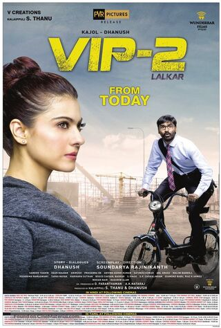 Velaiilla Pattadhari 2 (2017) Main Poster