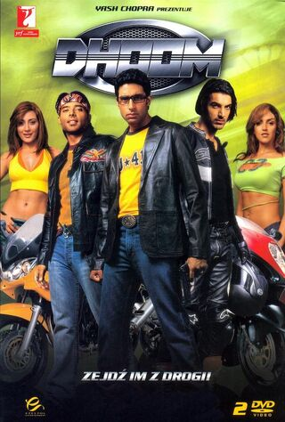 Dhoom (2004) Main Poster
