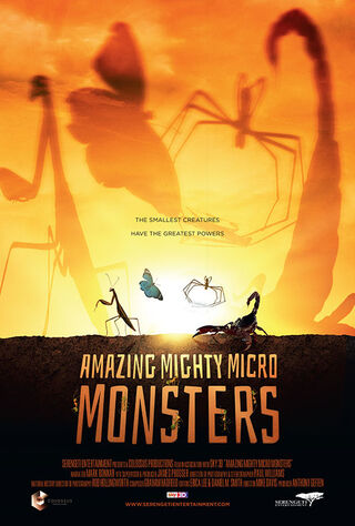 Amazing Mighty Micro Monsters 3D (2017) Main Poster