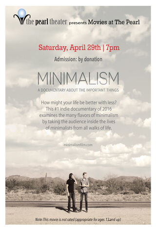 Minimalism: A Documentary About The Important Things (2016) Main Poster