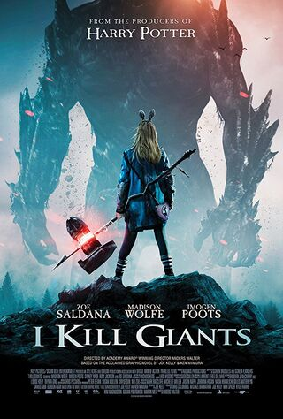 I Kill Giants (2018) Main Poster