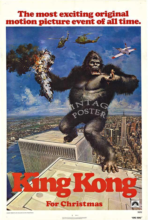 King Kong (1976) Poster #3
