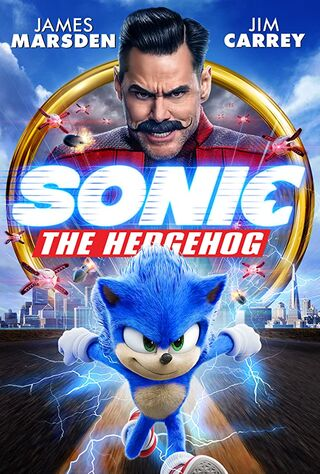 Sonic the Hedgehog (2020) Main Poster