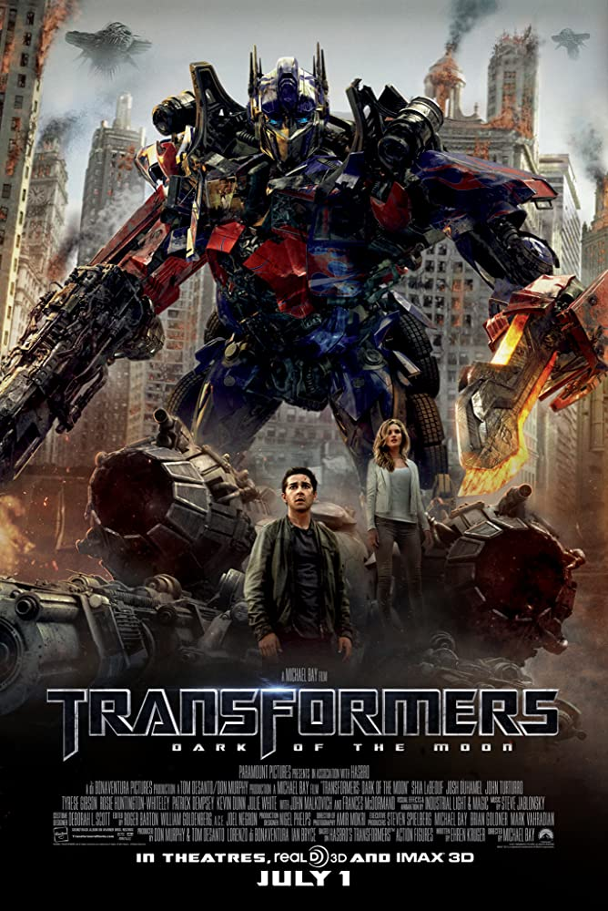 Transformers: Dark of the Moon (2011) Main Poster