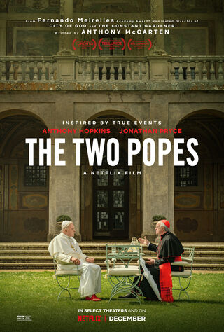 The Two Popes (2019) Main Poster
