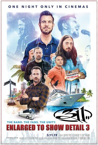 311 Enlarged To Show Detail 3 (2019) Main Poster