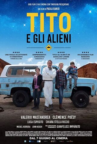 Little Tito And The Aliens (2018) Main Poster