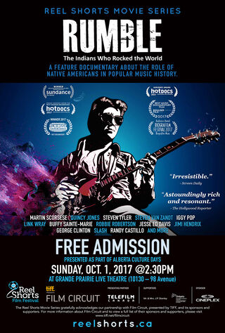 Rumble: The Indians Who Rocked The World (2017) Main Poster