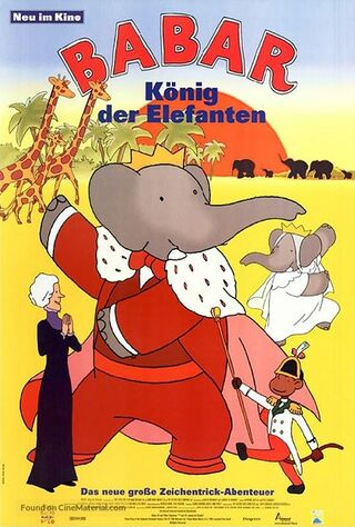 Babar: King Of The Elephants (1999) Main Poster