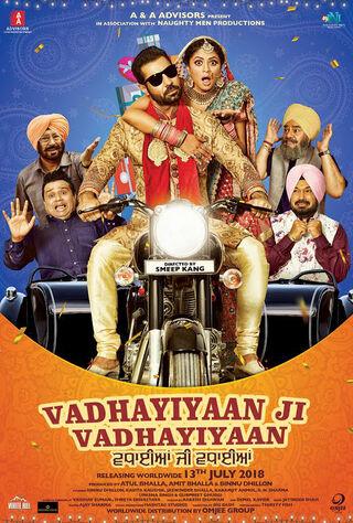 Vadhayiyaan Ji Vadhayiyaan (2018) Main Poster