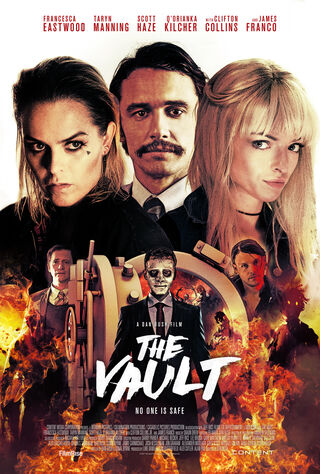 The Vault (2017) Main Poster