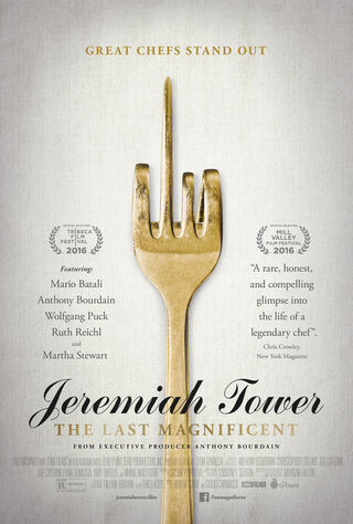 Jeremiah Tower: The Last Magnificent (2017) Main Poster